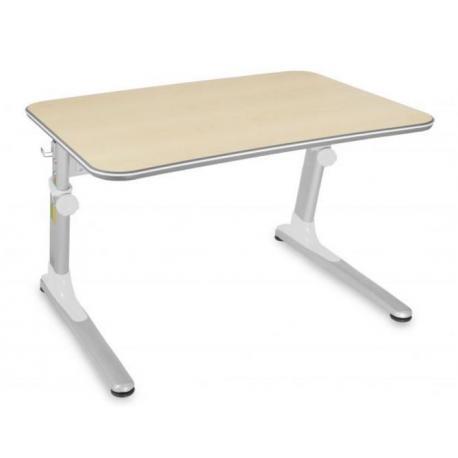 Biurko ergonomiczne rosnące razem z dzieckiem białe Junior Mayer - 4kidspoint.pl